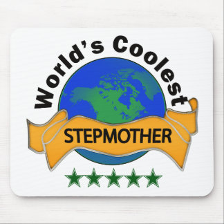 World's Coolest Stepmother Mouse Pad