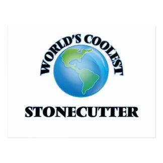 World's coolest Stonecutter Postcard