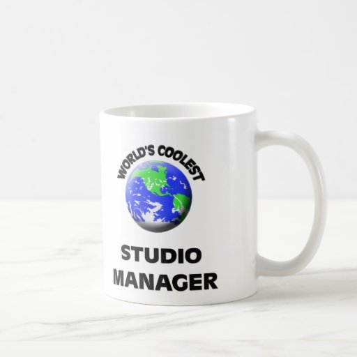 World's Coolest Studio Manager Coffee Mug