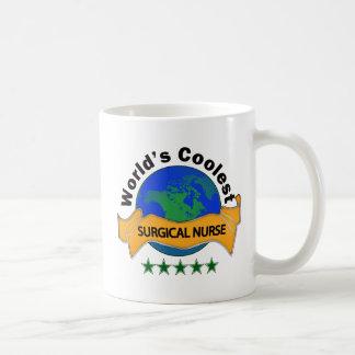 World's Coolest Surgical Nurse Coffee Mug
