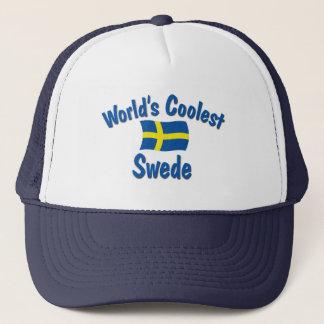 World's Coolest Swede Trucker Hat