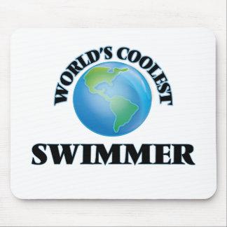World's coolest Swimmer Mousepad