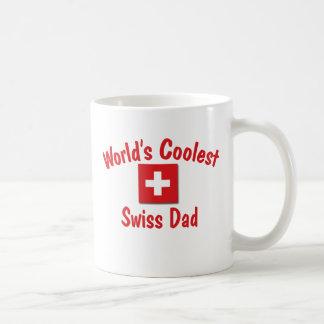 World's Coolest Swiss Dad Classic White Coffee Mug