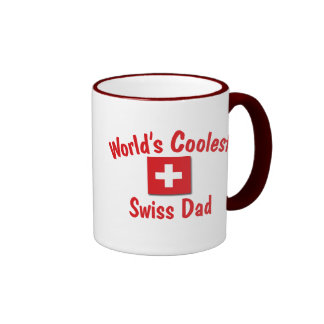 World's Coolest Swiss Dad Ringer Mug