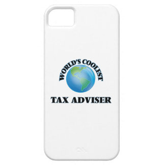 World's coolest Tax Adviser iPhone 5/5S Cover
