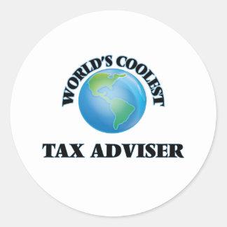 World's coolest Tax Adviser Stickers