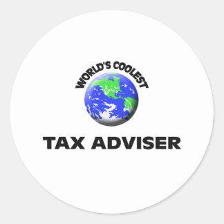 World's Coolest Tax Adviser Sticker