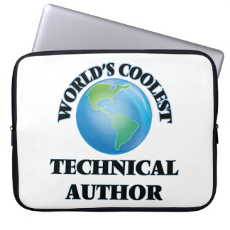 World's coolest Technical Author Computer Sleeve