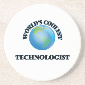 World's coolest Technologist Drink Coasters