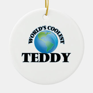 World's Coolest Teddy Christmas Tree Ornament