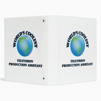 World's coolest Television Production Assistant 3 Ring Binder