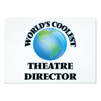 World's coolest Theatre Director Announcement Cards