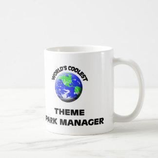 World's Coolest Theme Park Manager Coffee Mug