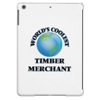 World's coolest Timber Merchant iPad Air Cover