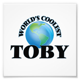 World's Coolest Toby Photo
