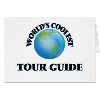 World's coolest Tour Guide Card