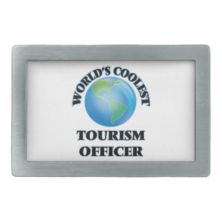 World's coolest Tourism Officer Rectangular Belt Buckles
