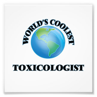 World's coolest Toxicologist Art Photo