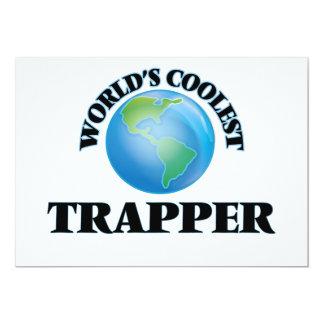 World's coolest Trapper Personalized Invitations