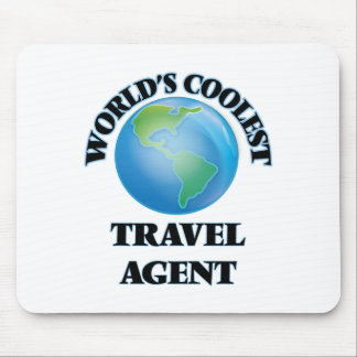 World's coolest Travel Agent Mouse Pad