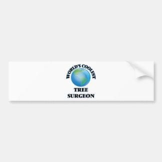 World's coolest Tree Surgeon Bumper Sticker