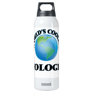 World's coolest Ufologist 16 Oz Insulated SIGG Thermos Water Bottle