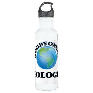 World's coolest Ufologist 24oz Water Bottle
