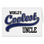 World's Coolest Uncle Greeting Card