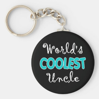 World's Coolest Uncle Keychain