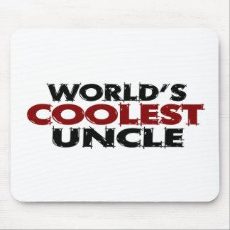 Worlds Coolest Uncle Mouse Pad