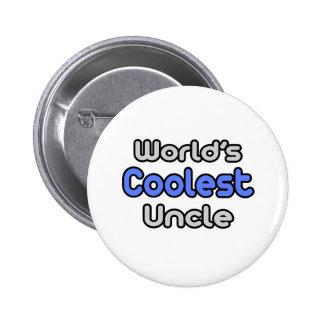 World's Coolest Uncle Pinback Button