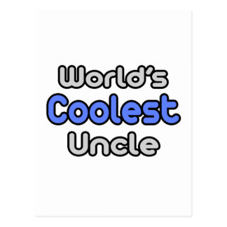 World's Coolest Uncle Postcard