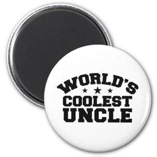 World's coolest Uncle Refrigerator Magnet