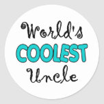 World's Coolest Uncle Stickers