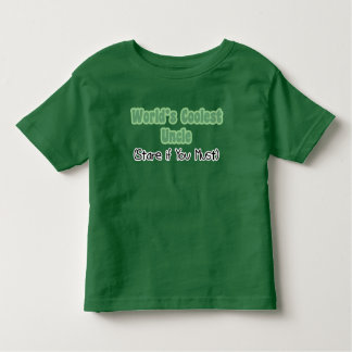 World's Coolest Uncle Toddler T-shirt