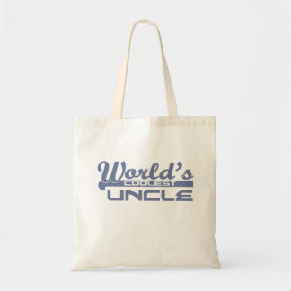 World's Coolest Uncle Tote Bag