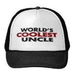 Worlds Coolest Uncle Trucker Hat