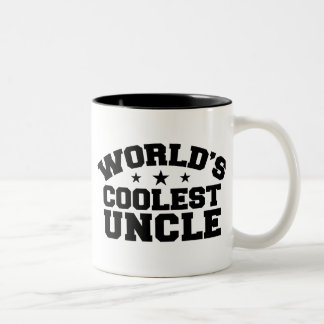World's coolest Uncle Two-Tone Coffee Mug