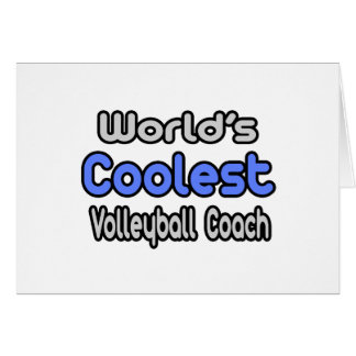 World's Coolest Volleyball Coach Cards