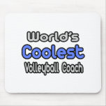 World's Coolest Volleyball Coach Mousepad