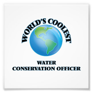World's coolest Water Conservation Officer Photograph