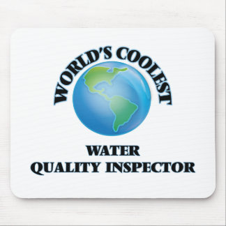 World's coolest Water Quality Inspector Mousepad
