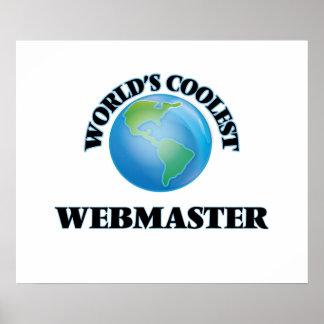 World's coolest Webmaster Poster