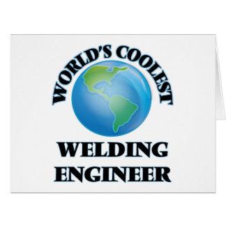 World's coolest Welding Engineer Card