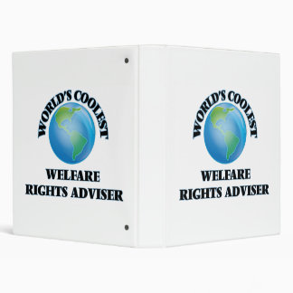 World's coolest Welfare Rights Adviser 3 Ring Binder