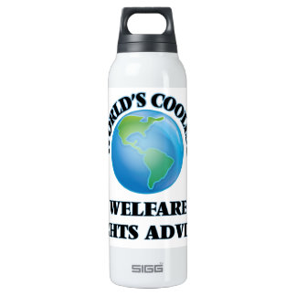 World's coolest Welfare Rights Adviser 16 Oz Insulated SIGG Thermos Water Bottle