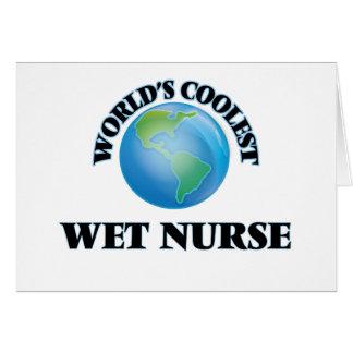 World's coolest Wet Nurse Card