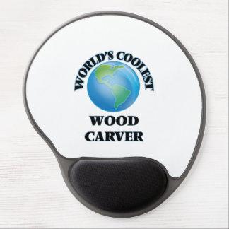 World's coolest Wood Carver Gel Mouse Mats