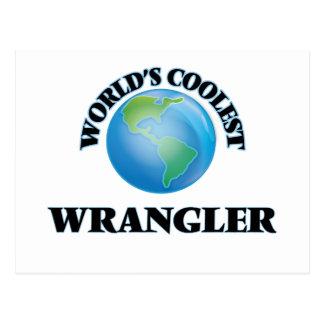 World's coolest Wrangler Postcard
