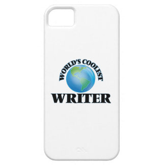 World's coolest Writer iPhone 5 Cover